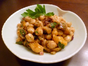 Turkish Garbanzo Bean Salad