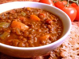 French Green Lentil Soup