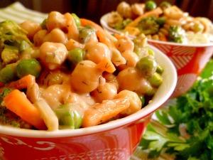 Garden Dill Chickpea Salad