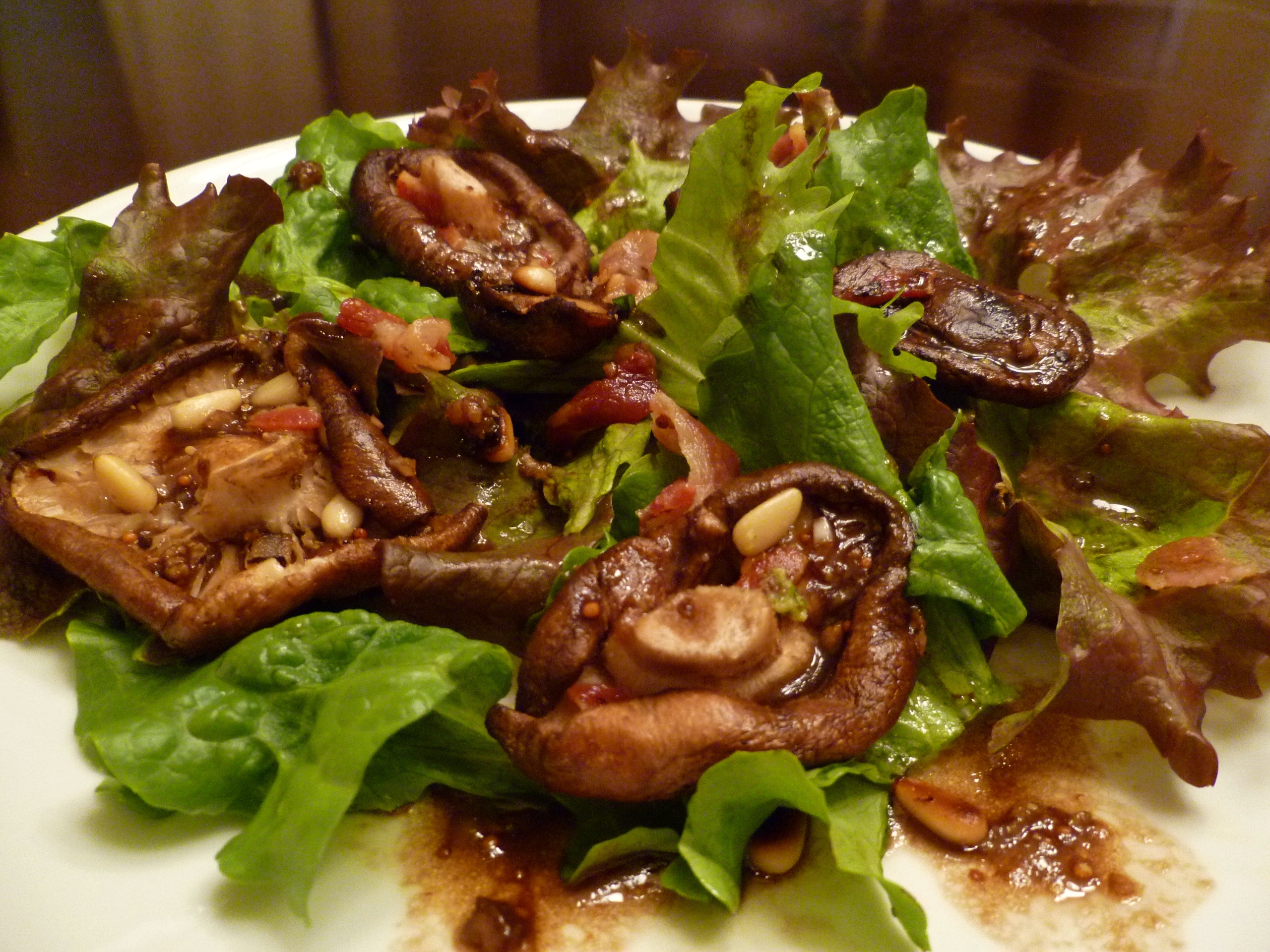 Warm Wild Mushroom Salad | Vogue Vegetarian
