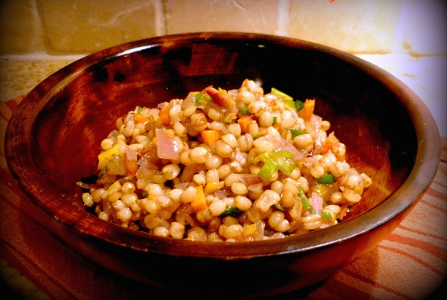 Savory Wheat Berry Salad