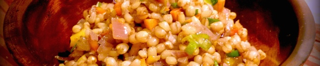 Savory Wheat Berry Salad