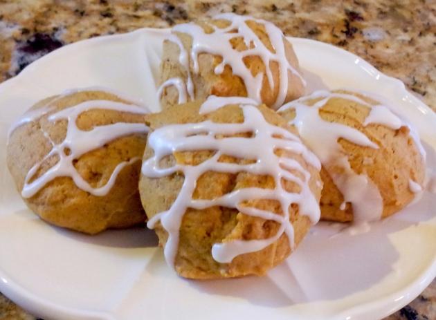 Iced Pumpkin Cookies-1