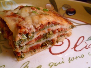 Lotsa Vegetable Lasagna