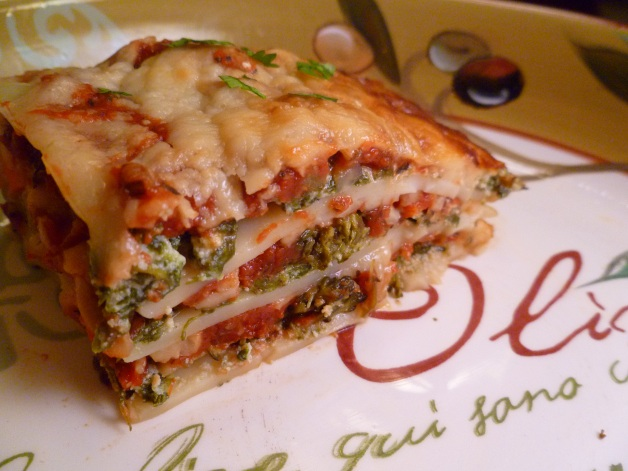 Lotsa Vegetable Lasagna
