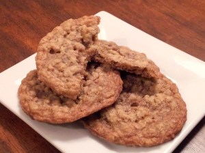 Lemon Ginger Pecan Oatmeal Cookies 2-1