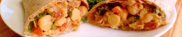 Chipotle Chickpea Wrap