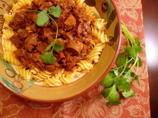 Sundried Tomato & Italian Sausage Pasta-7