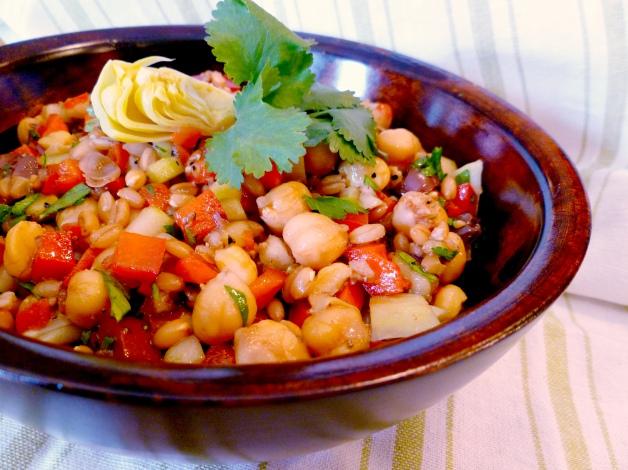 Greek Farro Salad-2