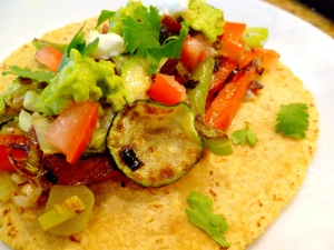 Roasted Vegetable Tacos1