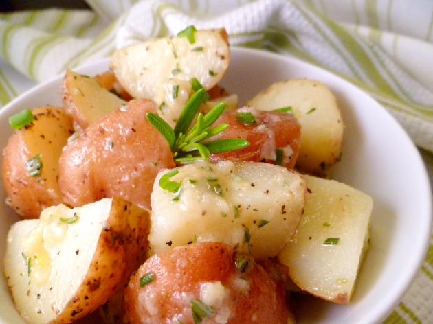 Rosemary Garlic Dijon Red Potatoes other angle b