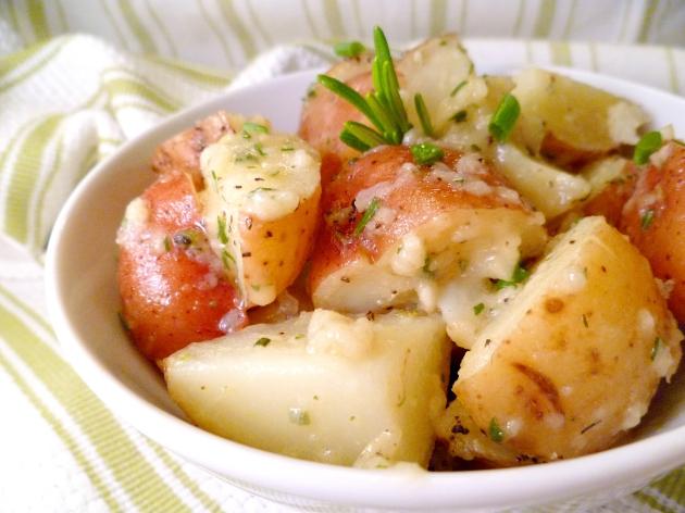 Rosemary Garlic Dijon Red Potatoesb