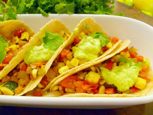 Roasted Veggie Tacos-a