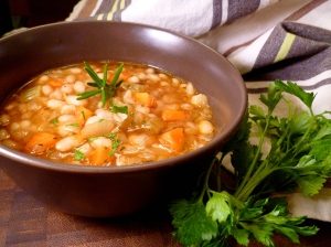 White Bean Rosemary soup 2